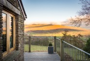Enjoy far-reaching views over the Brecon Beacons at Faraway House