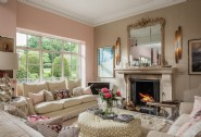 Relax in the formal living room area