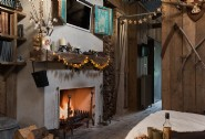 Curl up by the fire and spend Christmas with your loved one at Firefly
