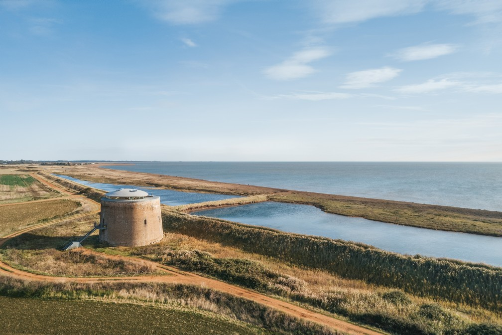 Found Tower   Luxury Self-Catering Martello Tower   Bawdsey, Woodbridge