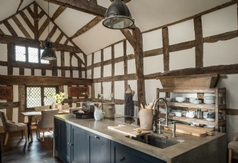 Luxury self-catering home on the banks of the river Arrow in Herefordshire