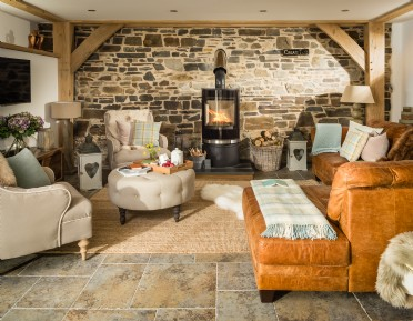 Luxury converted barn in Exmoor, Somerset
