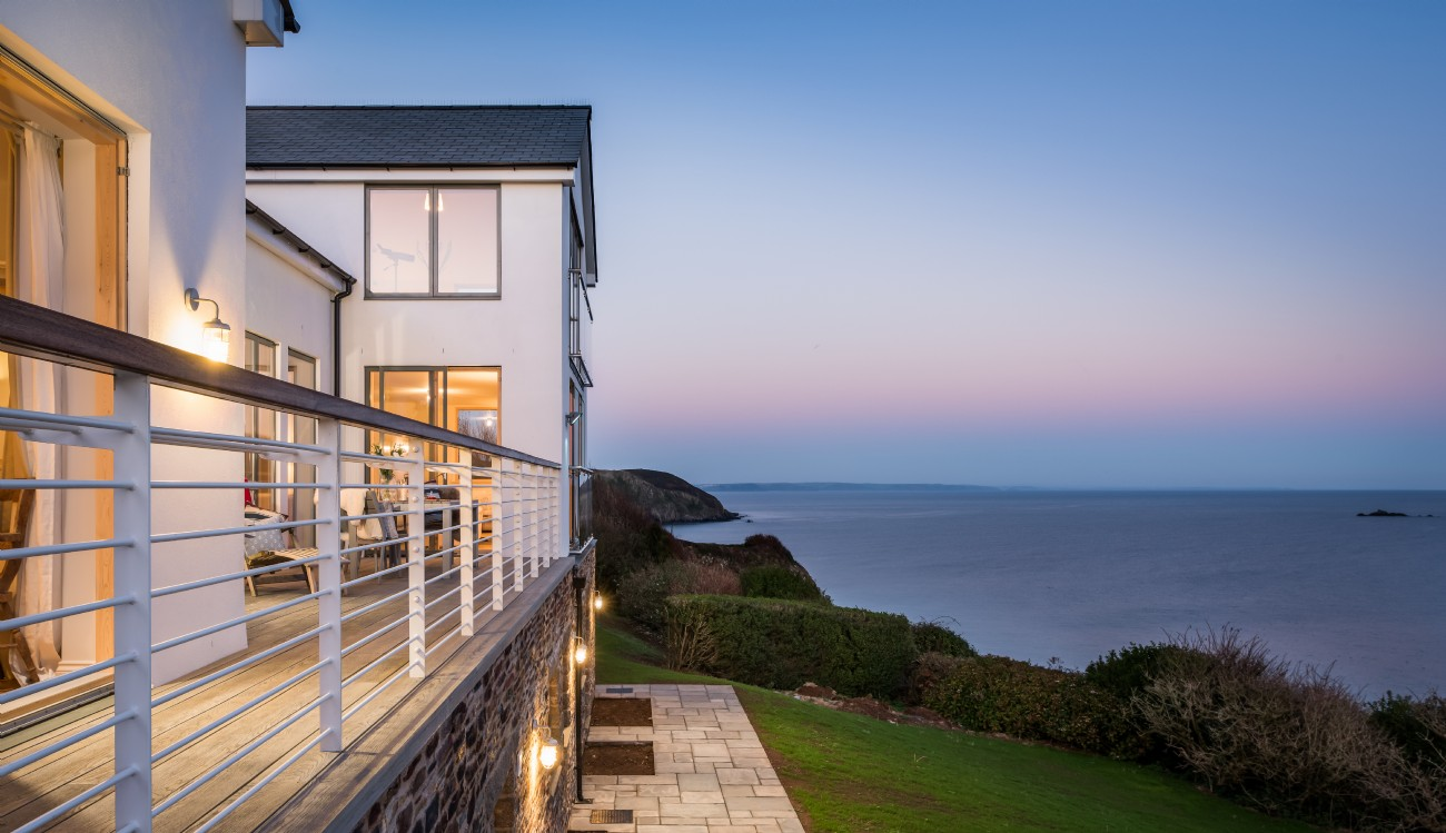 Gorran Haven Luxury Self-catering Beach House, Cornwall