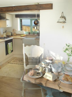 luxury self-catering Barn near Mawgan Porth in Cornwall