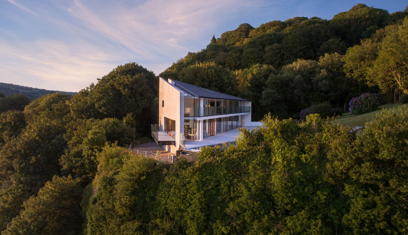 Modern Luxury Self-Catering with Pool near Ilfracombe, North Devon