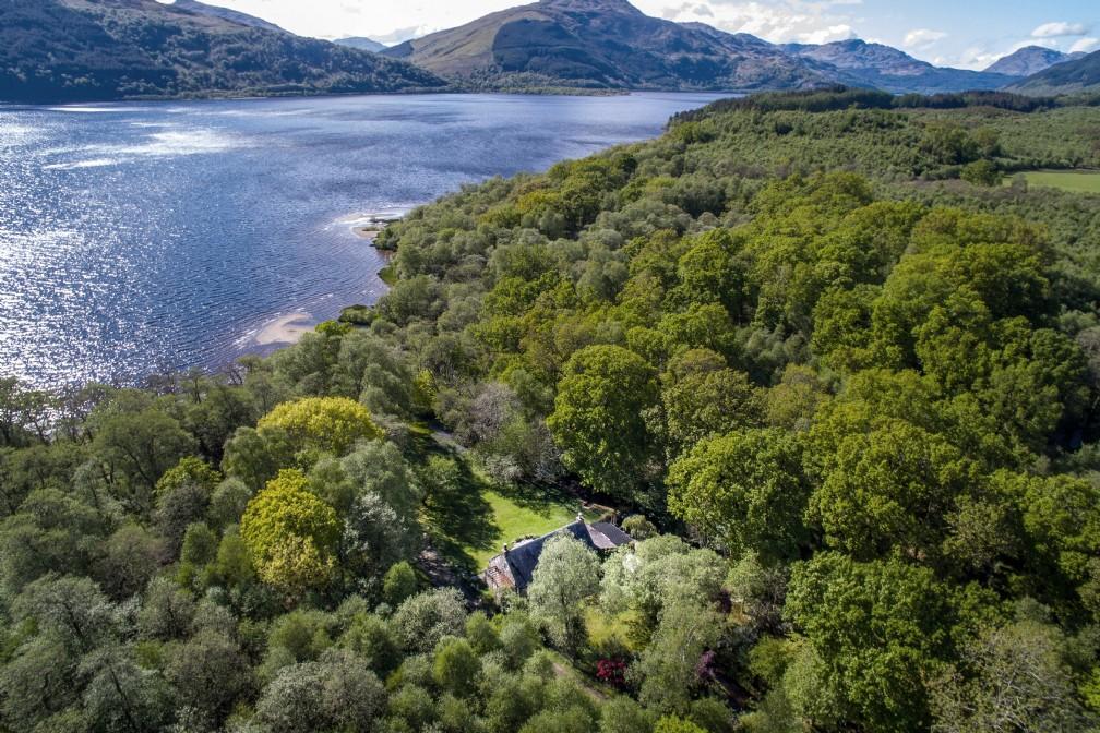 Little Eden | Luxury Self-Catering | Loch Lomond, Scottish Highlands