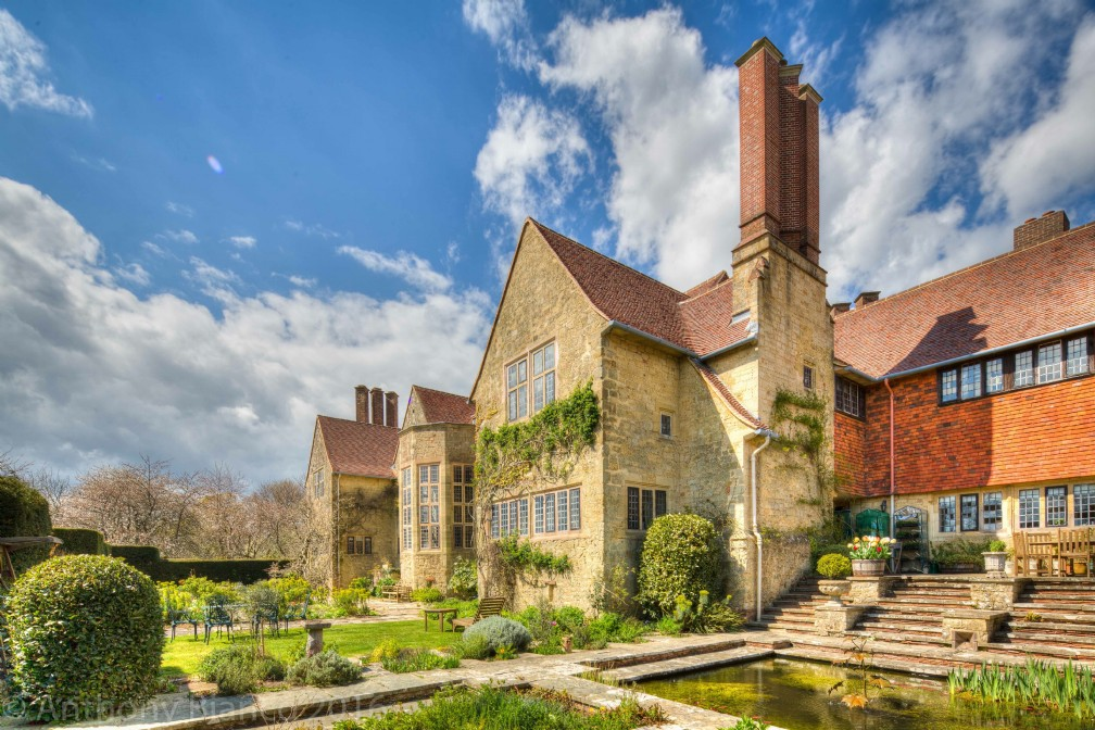 Country manor house for sale in West Sussex