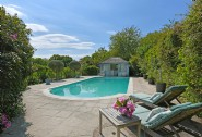 Little Thakeham flaunts an outdoor swimming pool and pool house