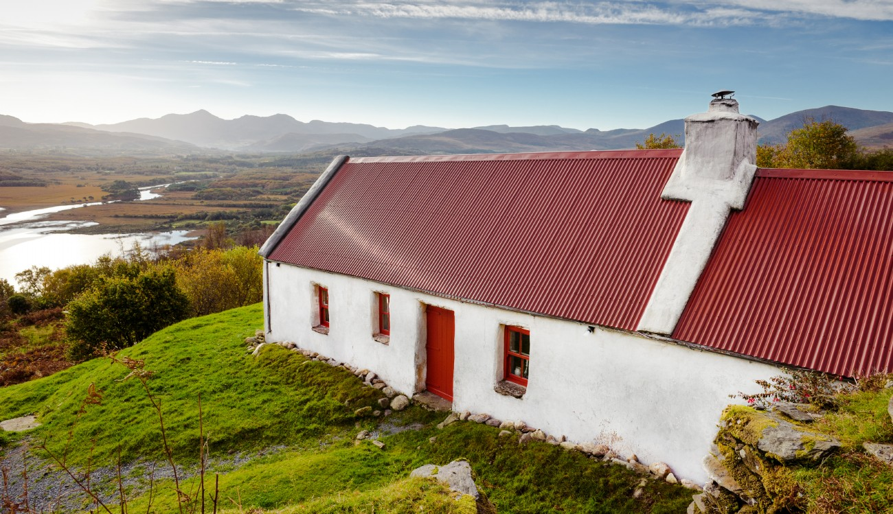 Lost Cottage; unique self-catering cottage in County Kerry, Ireland
