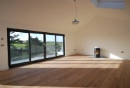 A blank canvas to create a stunning space to reflect the setting