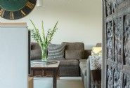 The light-filled living area at Montana, Lyme Regis
