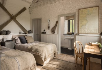 Luxury sea view barn St. Mawes, cornwall