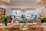 Enjoy breakfast with a view in the dining room