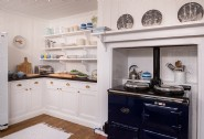 The well-equipped kitchen is perfect for rustling up a feast