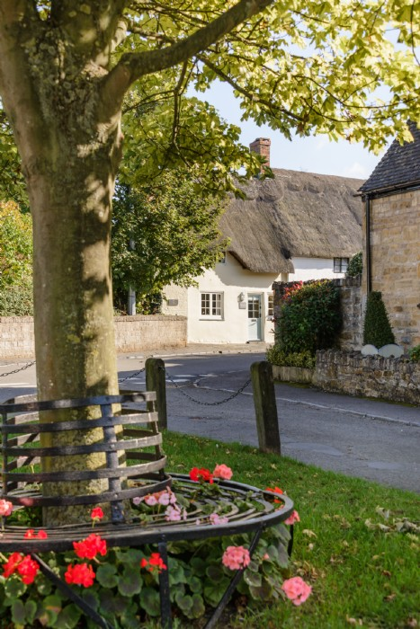 Thatched Grade II Listed Chocolate Box Holiday Cottage In The Cotswolds