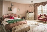 The master bedroom with super king-size bed