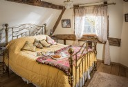 Luxury first floor double bedroom with fairy-tale cottage style