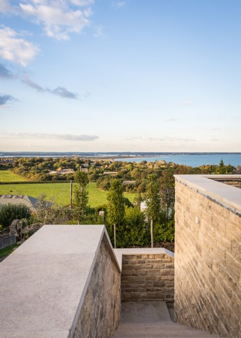 Rockefeller is a luxury modern beach house in Dorset