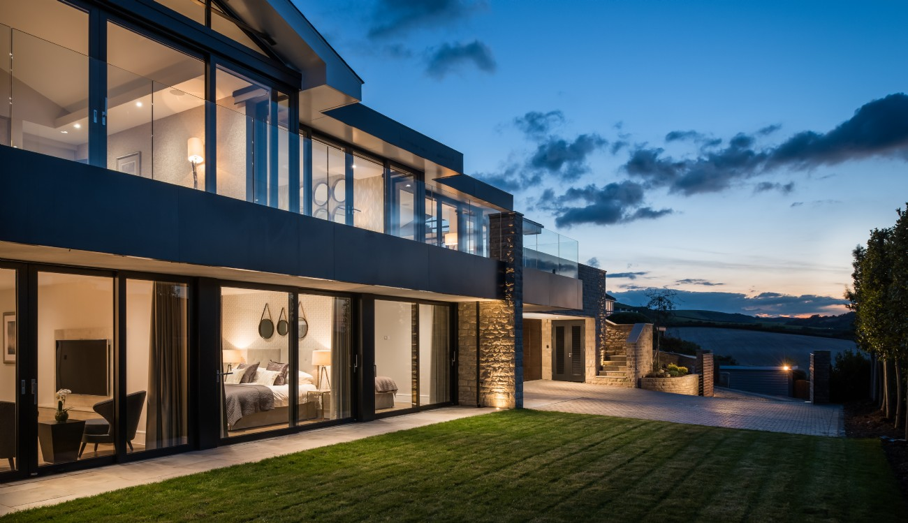Studland modern self-catering beach house in Dorset