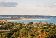 Rockefeller is just half a mile from Studland beach