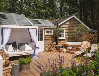 Luxury self-catering cottage in East Sussex