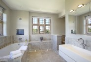 Lavish en suite bathrooms