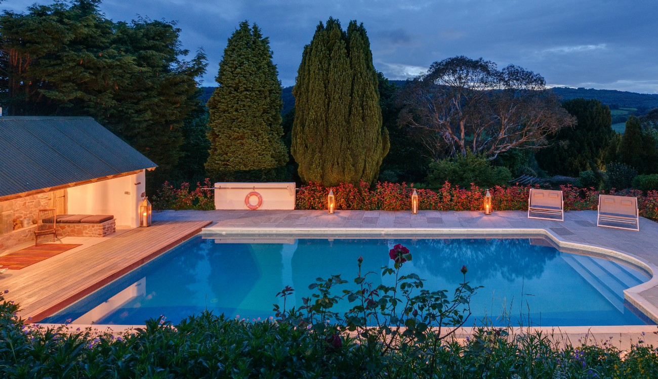Trusham Luxury Self-catering with Swimming Pool, Devon