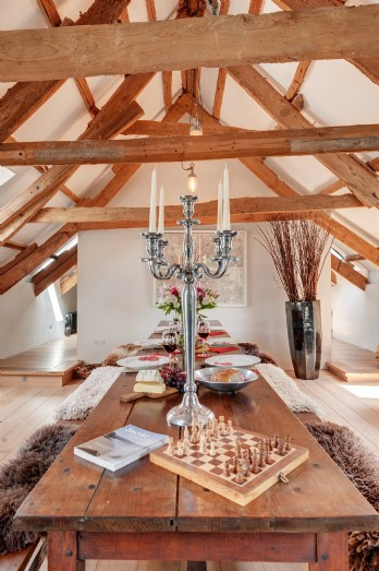Architect-designed 16th-century luxury converted barn Dartmoor
