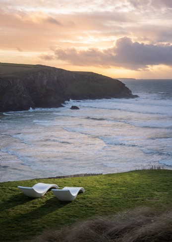 Saphir Beach House luxury self-catering in Mawgan Porth, Cornwall