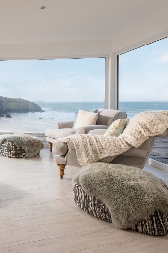 North Cornwall luxury coastal self-catering home