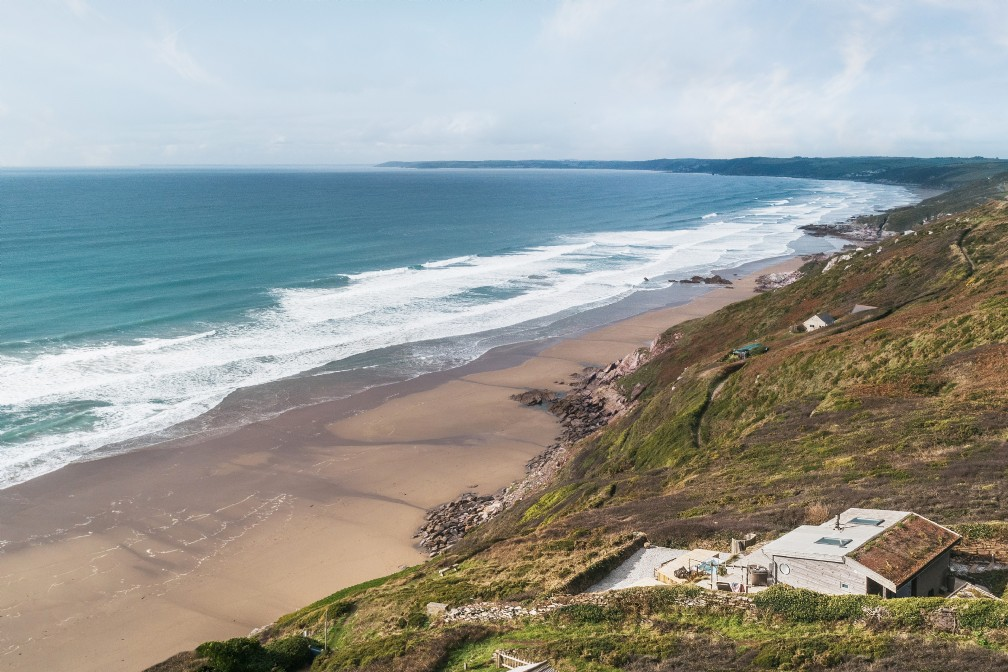 Seaglass | Luxury Self-Catering Beach House | Whitsand Bay, Cornwall