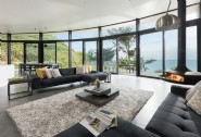 Luxury modern interiors ensure the focus is all on the sea view