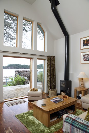Luxury self-catering cottage Loch Ewe