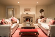 Families will love to kick back in the cosy living area
