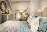 The stylish double bedroom with king-size bed