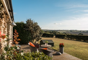 Luxury self-catering barn near Watergate Bay, north Cornwall