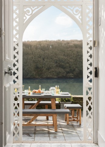 Luxury holiday home on the river near Truro