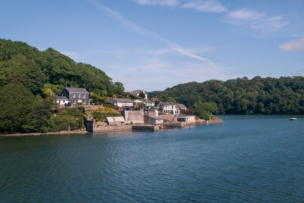 Stella Maris | Luxury Self-Catering River Home | Malpas, Cornwall