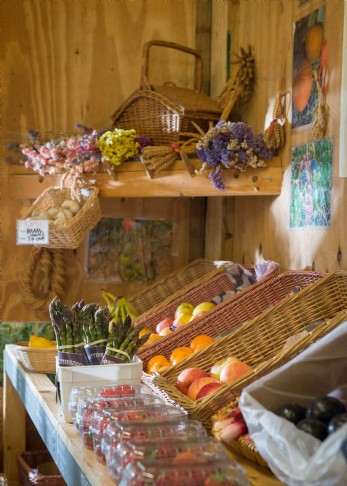 Local farm shop produce is waiting at this self-catering hideaway in Cornwall