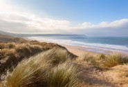 Tamarisk Beach House sits just above the three mile stretch of Woolacombe Bay
