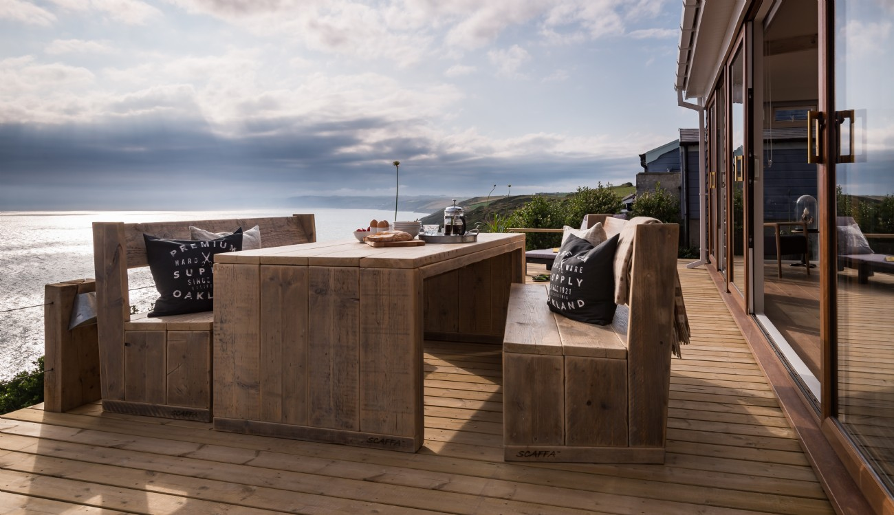 Whitsand Bay cliff top self-catering beach house, Cornwall