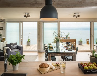 Self-catering beach house for families