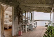 Enjoy long summer evenings on The Beach Hut´s decking