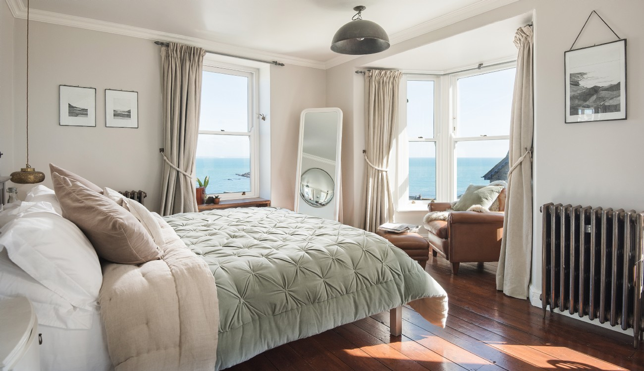 The Chalk House | Luxury Coastal Cottage | Mousehole, Cornwall