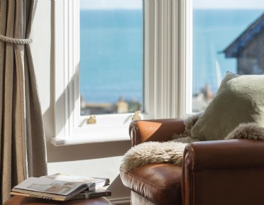 The Chalk House is the perfect seaside retreat in Mousehole
