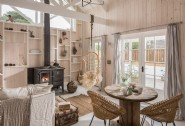 Exposed wood and natural materials reign at The Cotton Tree