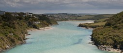 The Gannel Estuary in Newquay