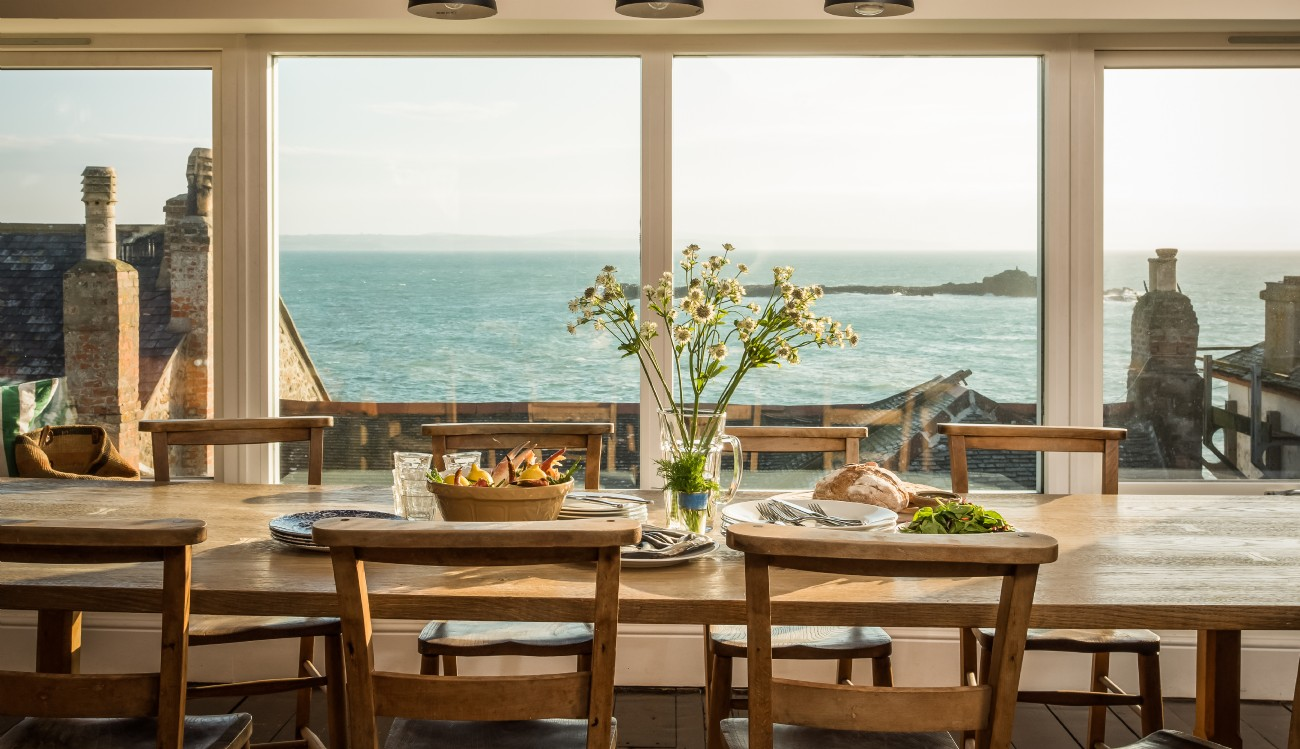 Mousehole Luxury Self-catering Fish Store, West Cornwall