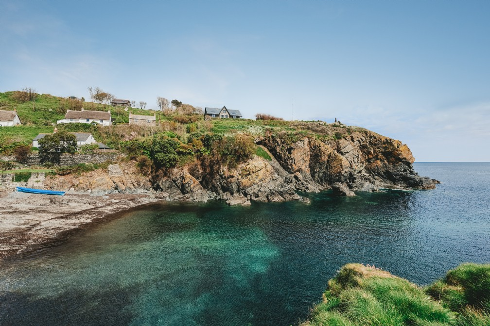 Luxury Coastal Cottage For Sale | Cadgwith Cove | Cornwall