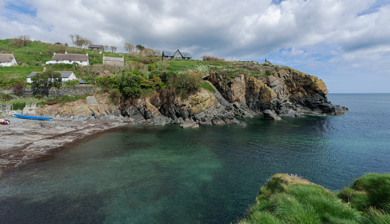 Cadgwith Cove Cottage on the Lizard peninsula, Fisherman´s Knot
